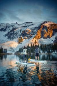 SUP Leash on Alta Lake